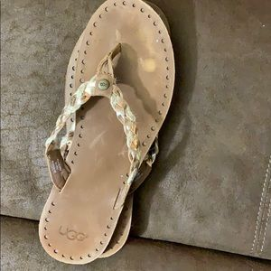 Used size 9 UGG sandals